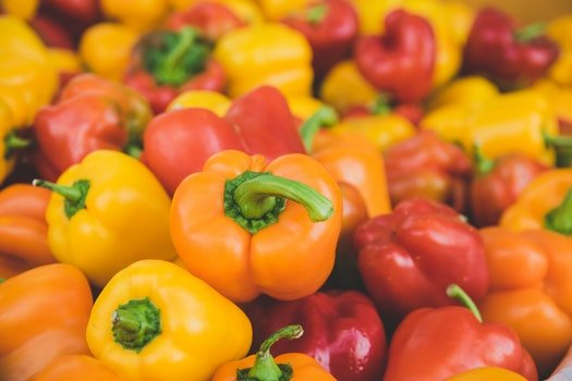 Free stock photo of food, vegetables, peppers, blur