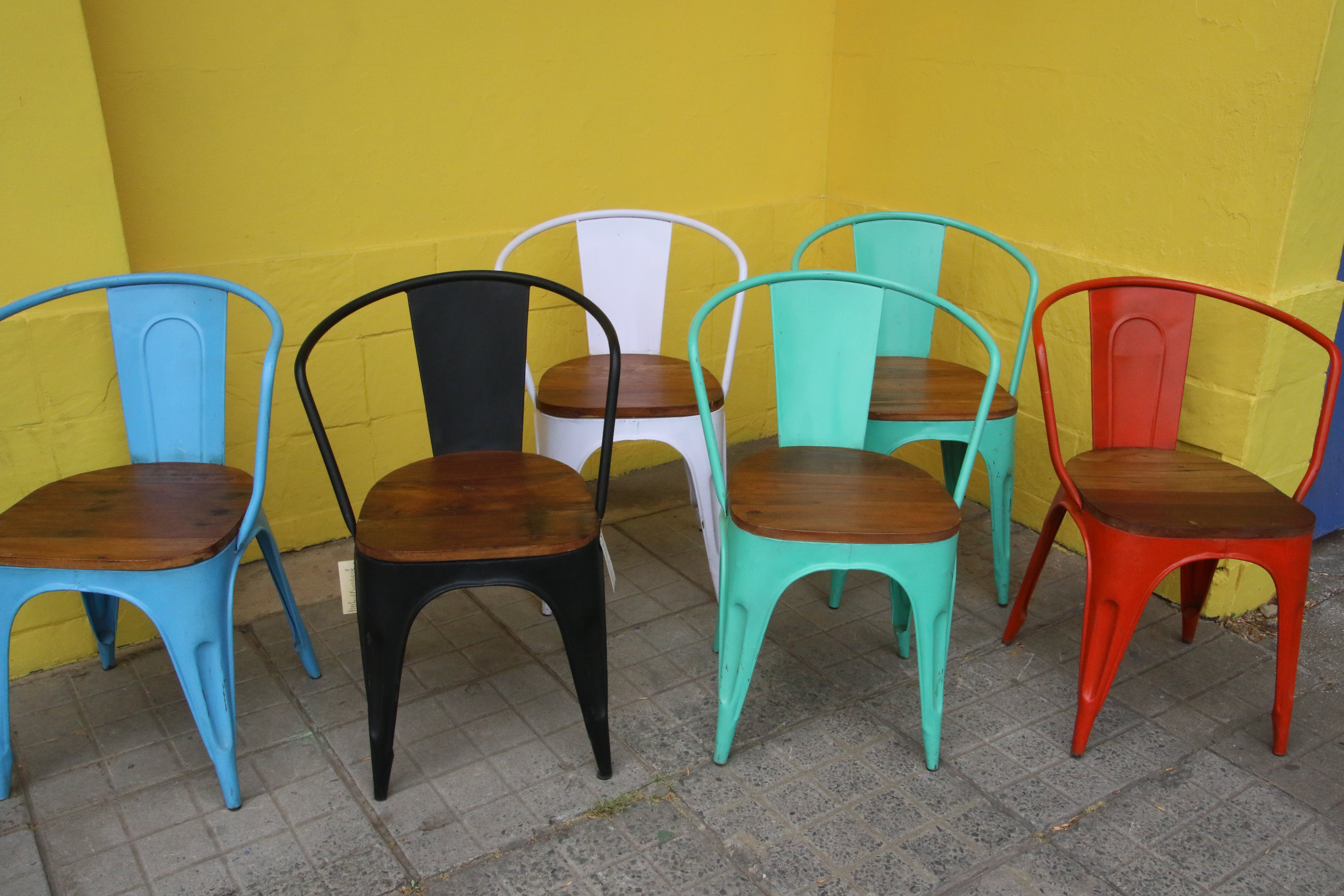 Free stock photo of chairs, colorful, furniture, have a seat