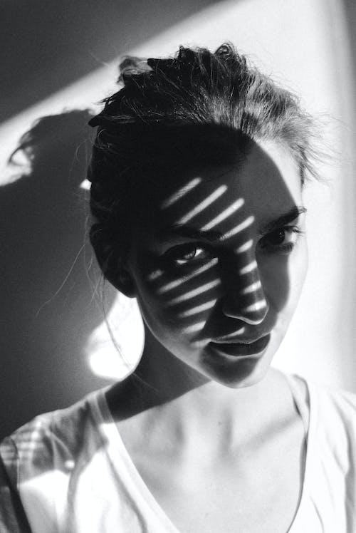 Kostenloses Stock Foto zu auge, dunkel, einfarbig