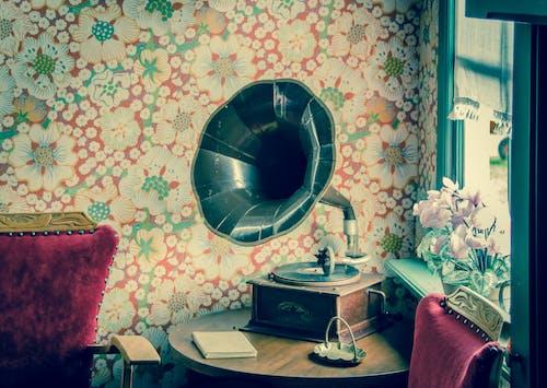Gratis lagerfoto af antik, årgang, blomster, blomstermotiv