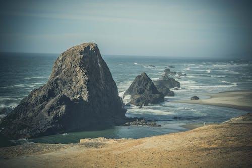 ada, dalgalar, deniz, deniz manzarası içeren Ücretsiz stok fotoğraf