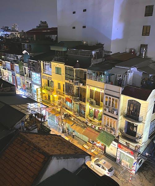 คลังภาพถ่ายฟรี ของ ชีวิตยามค่ำคืน, ถนนฮานอย, ถนนเล็ก ๆ, ฮานอย