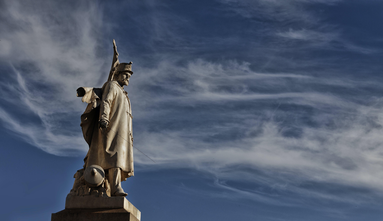 Ingyenes stockfotó alfiere, emlékmű, felhők, Itália témában
