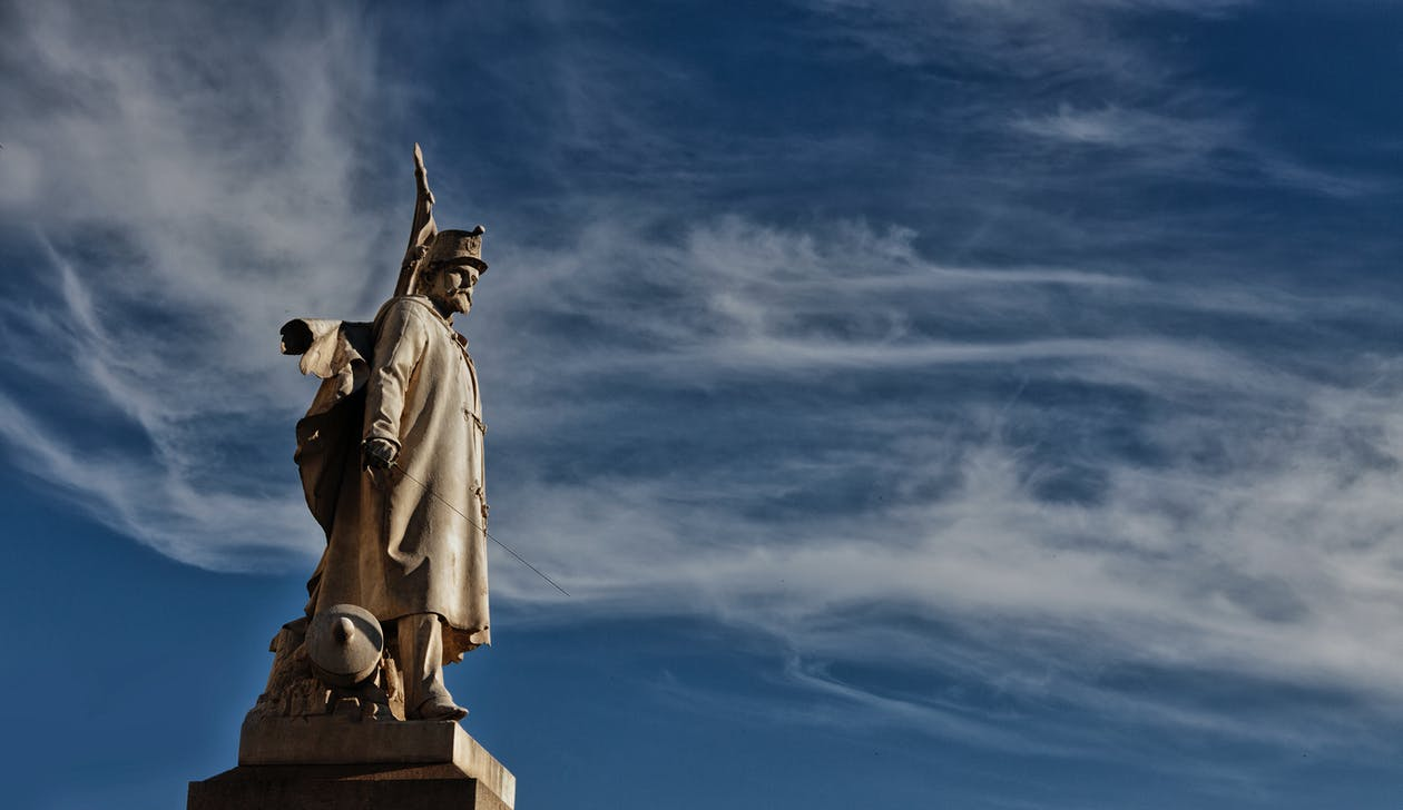 Free stock photo of alfiere, bishop, blue sky
