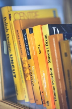 Only yellow books