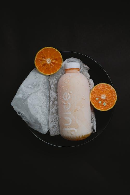 Kalter Saft Mit Orange In Der Schüssel