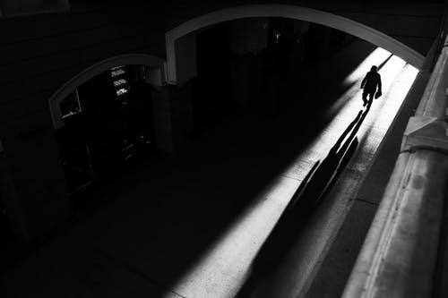 Ingyenes stockfotó alagút, árnyék, boltív témában