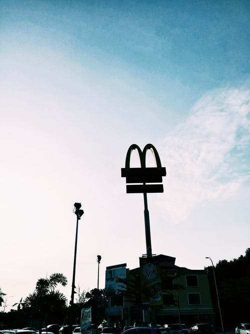 Free stock photo of #vsco #McDonald's #highcontrast