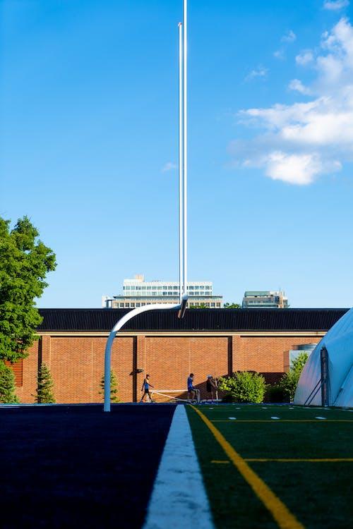 Free stock photo of football field