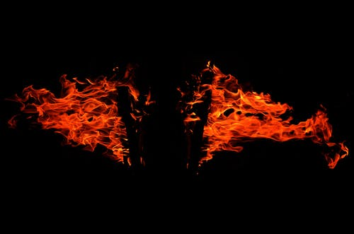 Foto profissional grátis de acampamento, ameaça, chama, chamas