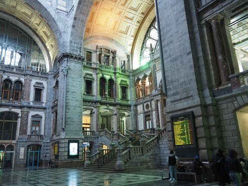 Free stock photo of antwerp, architecture, central station