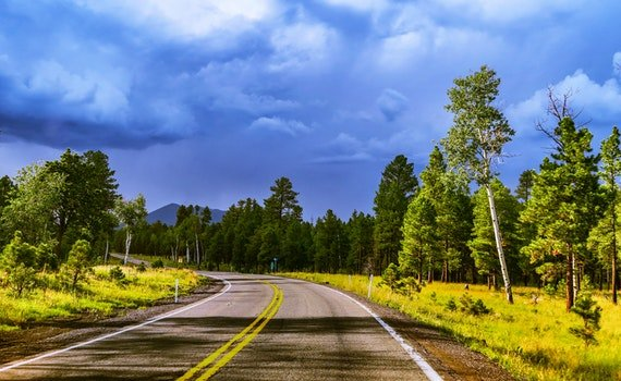 Free stock photo of road, nature, sky, clouds