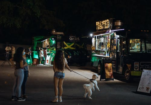 Free stock photo of covid, food event, food truck, order