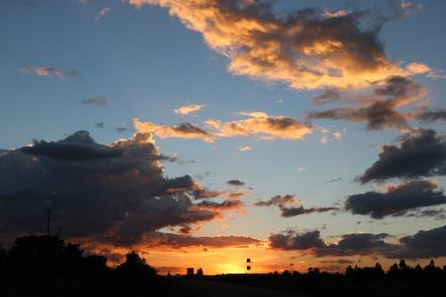 Free stock photo of kenyan sunset