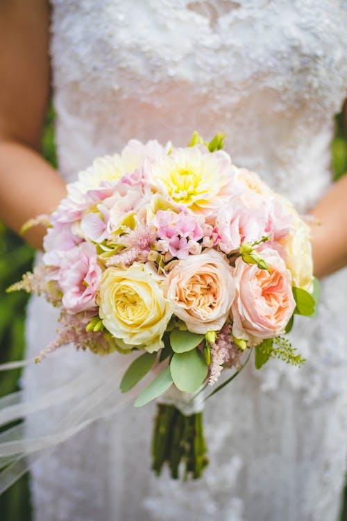 꽃의 신부 지주 꽃다발