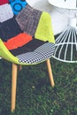 texture, colorful, chair
