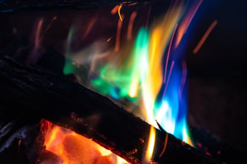 Foto profissional grátis de abstrair, abstrato, arco-íris