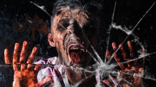 Kostnadsfri bild av blod, skräck, splittras, trasig spegel