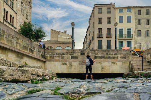 Fotos de stock gratuitas de arquitectura romana antigua, calle antigua, camino de ladrillos, camino viejo