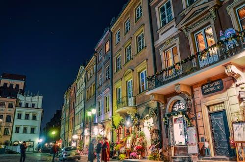 Foto d'estoc gratuïta de barri antic, botigues, ciutat, colorit