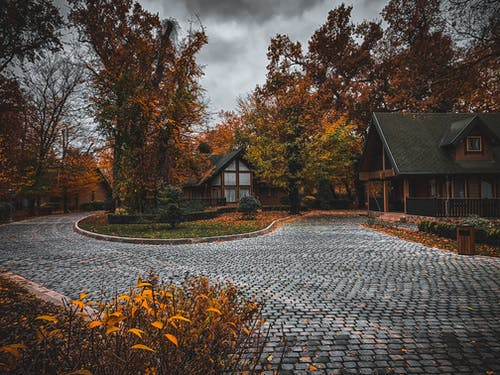 Foto profissional grátis de azerbaijão, casa da floresta, cores de outono
