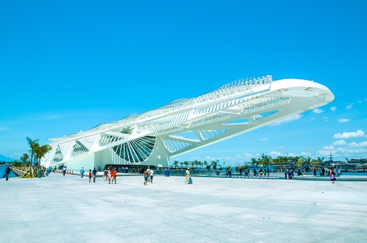 Free stock photo of architect, museum, cityscape, brazil