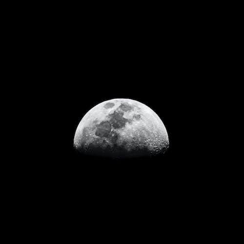 Ingyenes stockfotó asztrológia, csillagászat, éjszaka, fekete-fehér témában