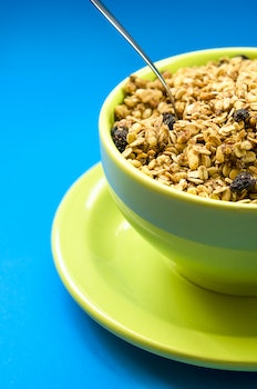 Free stock photo of food, spoon, meal, cereals