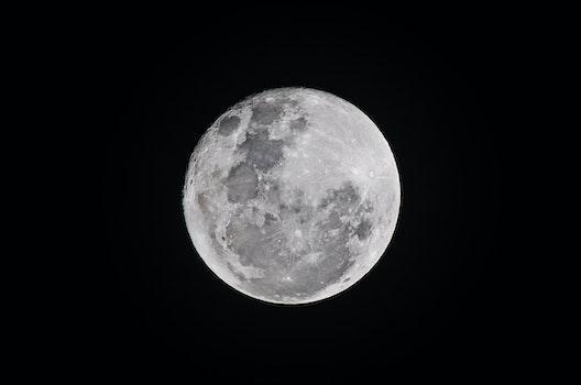 Free stock photo of black-and-white, sky, night, dark