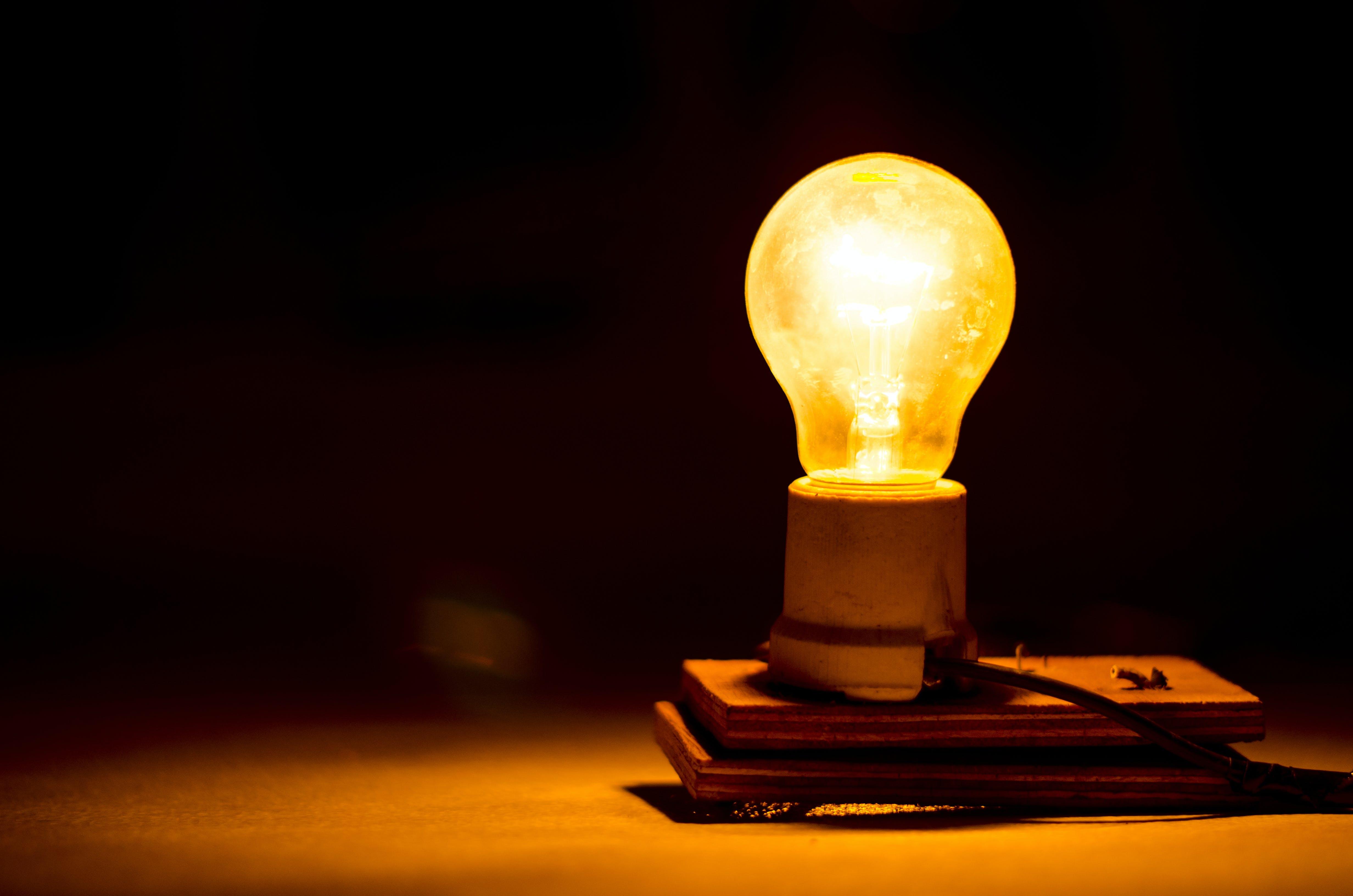 Free stock photo of light, creative, bulb, unique