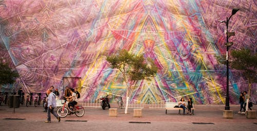 mx, 下午, 人, 街頭藝術 的 免费素材照片