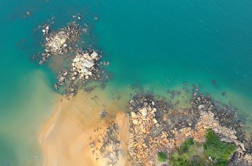 天性, 岩石, 岸邊, 戶外 的 免费素材照片