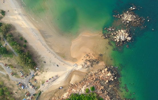 Free stock photo of aerial view, dji, drone cam, aerial shot