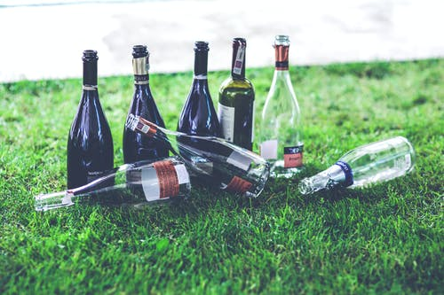 Darmowe zdjęcie z galerii z alkohol, butelka, butelka wina, czas wolny
