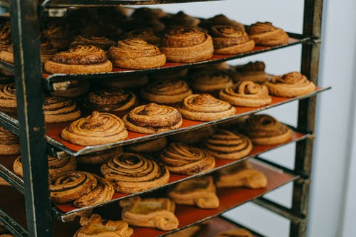 Close-Up Photo of Delicious Cinnamon Rolls