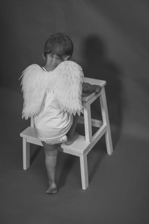 Foto profissional grátis de adulto, anjo, arte