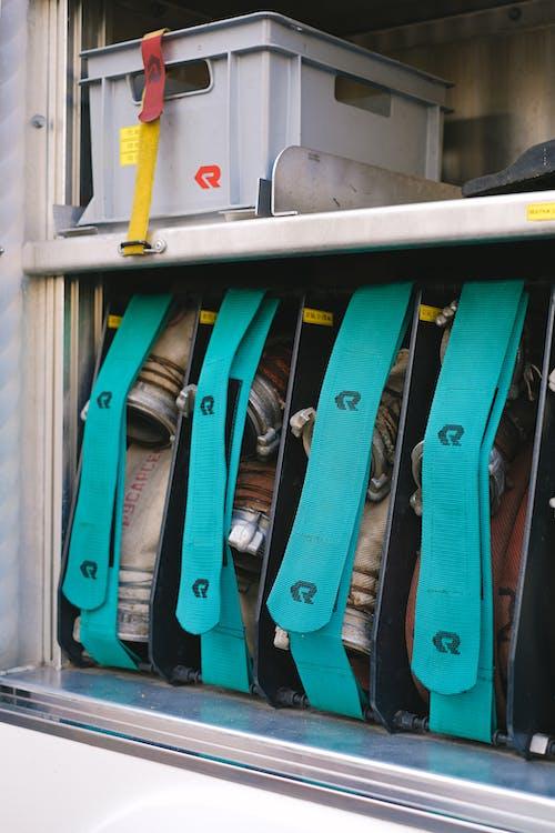 Fotos de stock gratuitas de camión de bomberos, de cerca, dentro