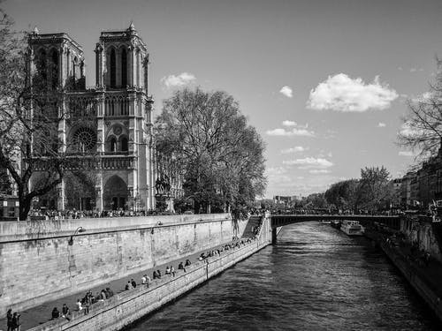 seinne, 城市, 大教堂, 天空 的 免费素材照片