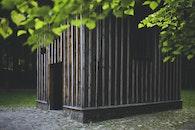 wood, dark, building