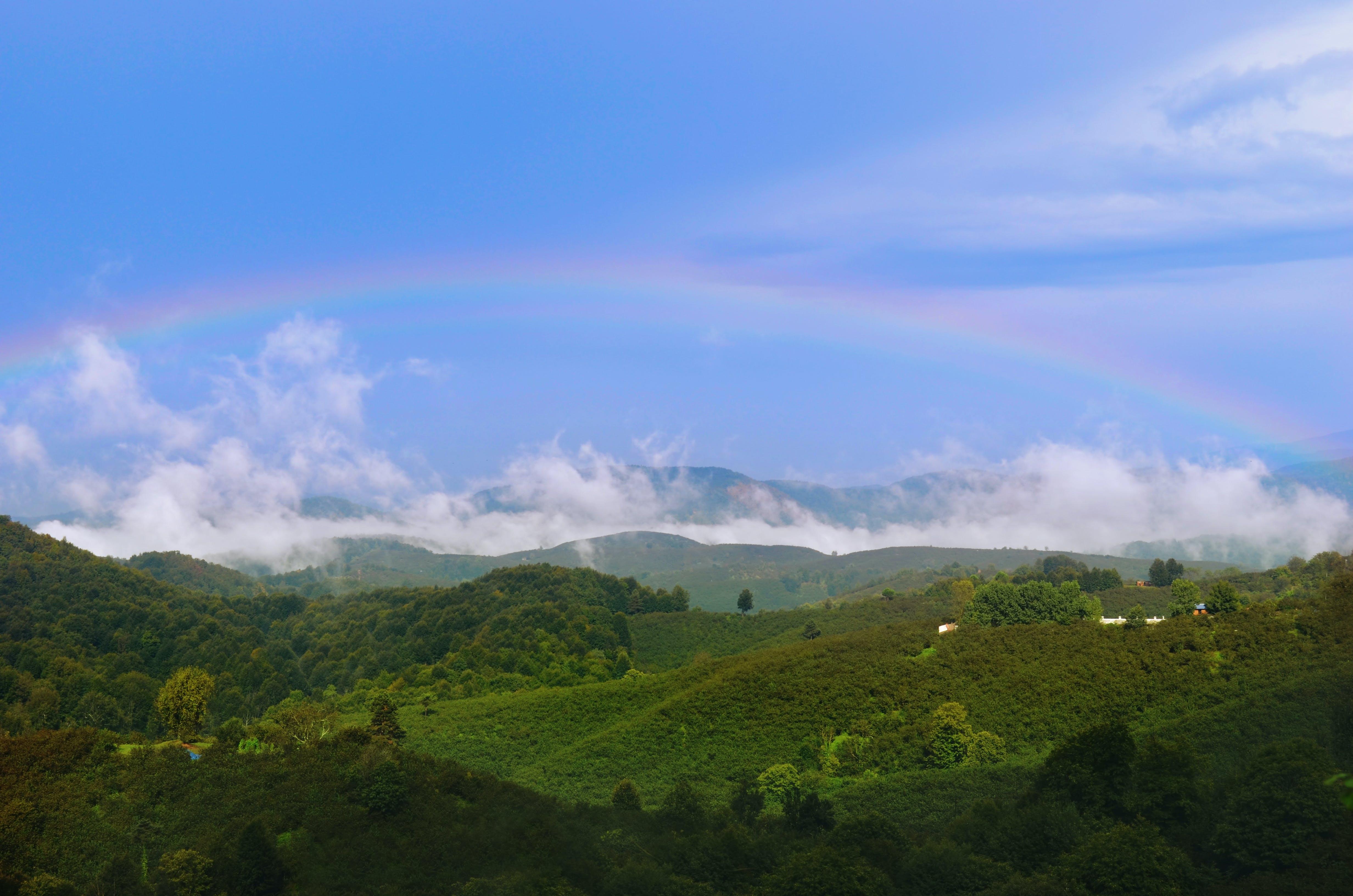 Kostenloses Stock Foto zu dorf, grün, himmel, natur