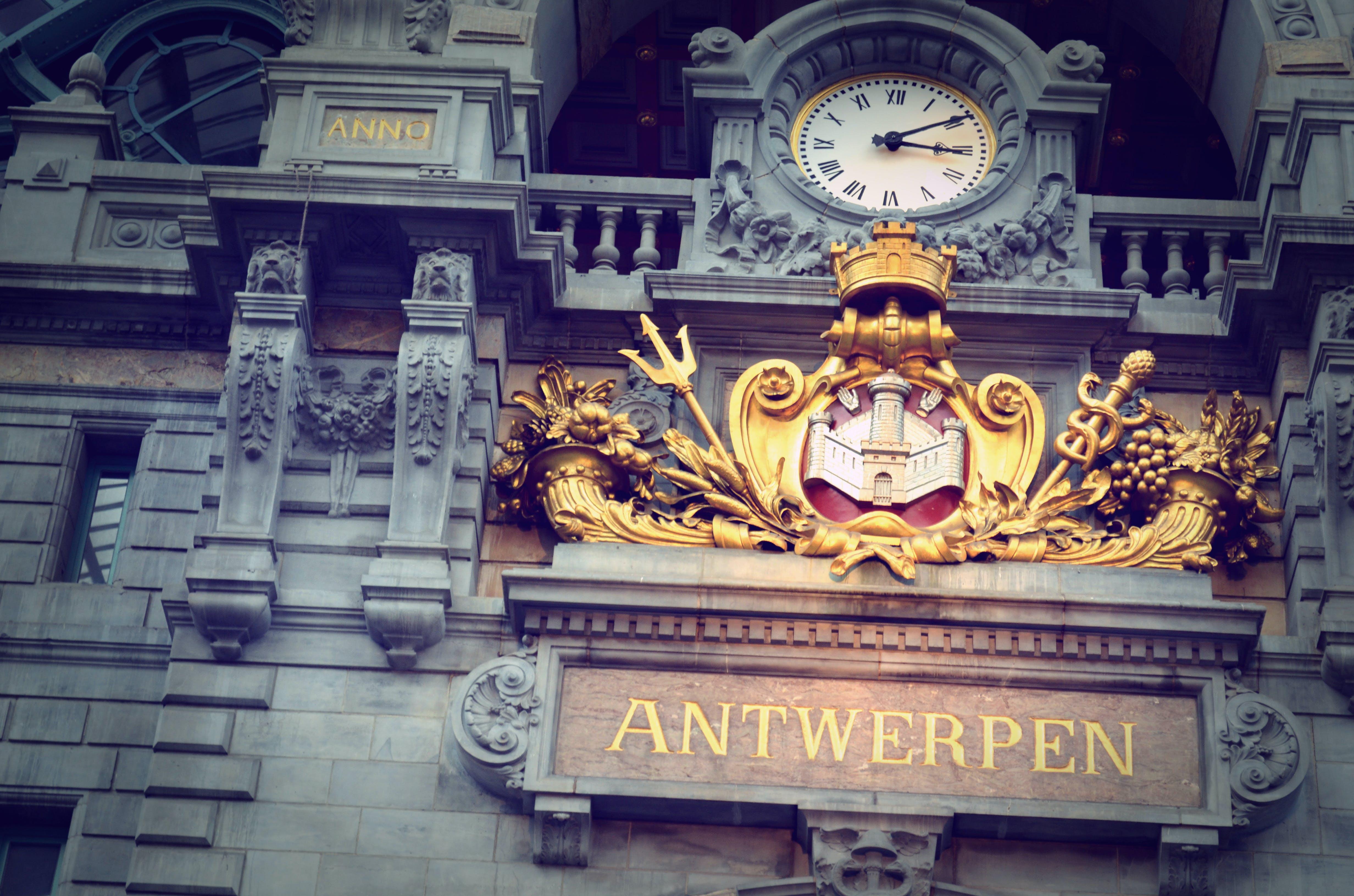 Kostenloses Stock Foto zu antwerpen, belgien, eisenbahn, hauptbahnhof