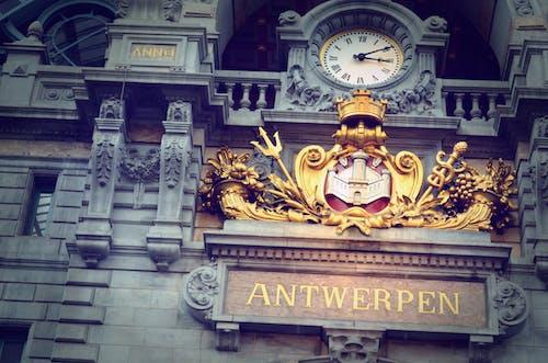 Gratis arkivbilde med antwerpen, Belgia, jernbane, rekkverk