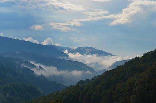 Gratis arkivbilde med fjell, himmel, høy, landskap