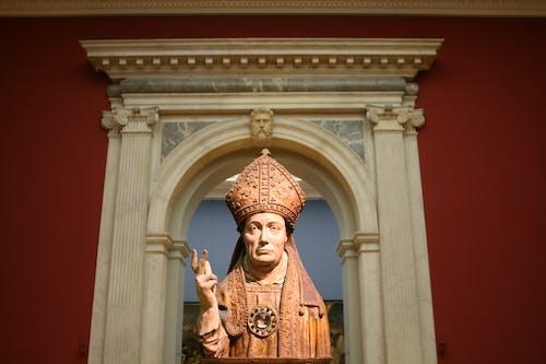 Sculpture of a Bishop in Bode Museum