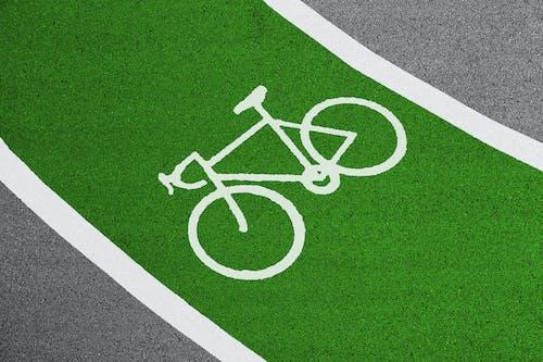 Kostenloses Stock Foto zu asphalt, boden, fahrbahn, fahrrad