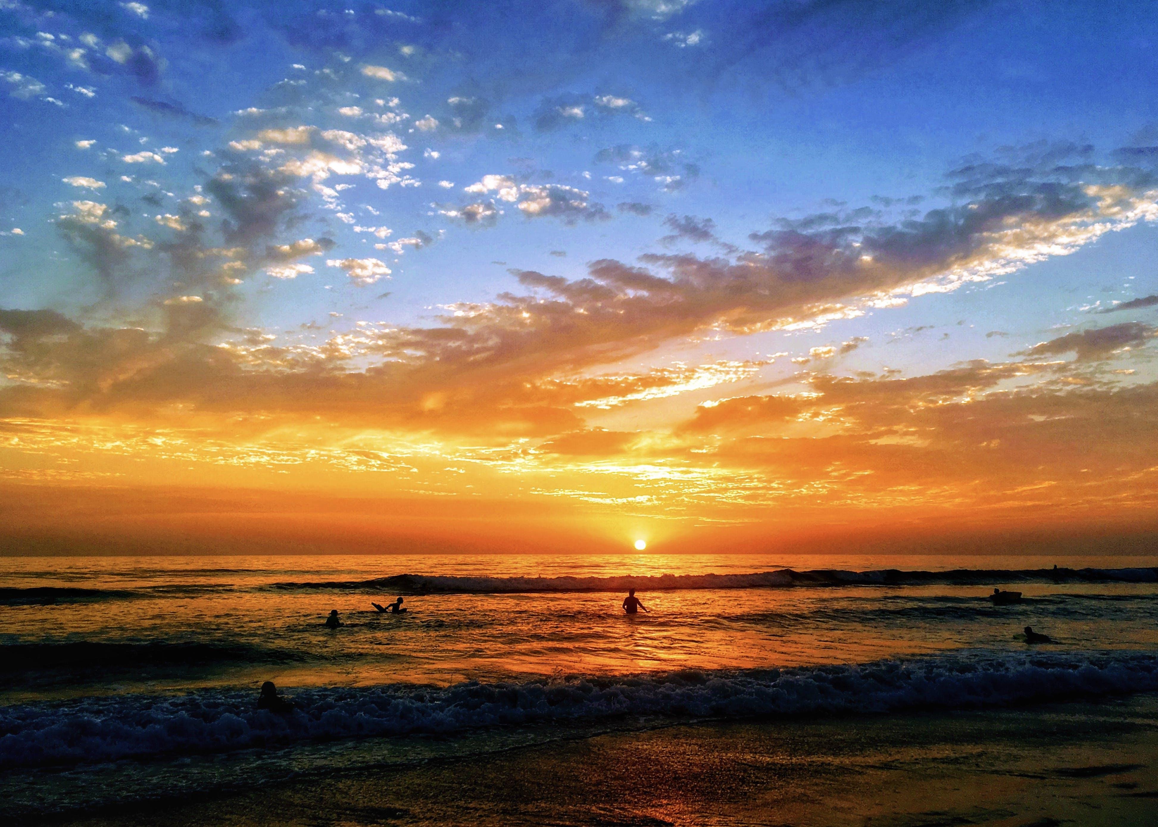 Gratis lagerfoto af bølger, folk, fredelig, fritid