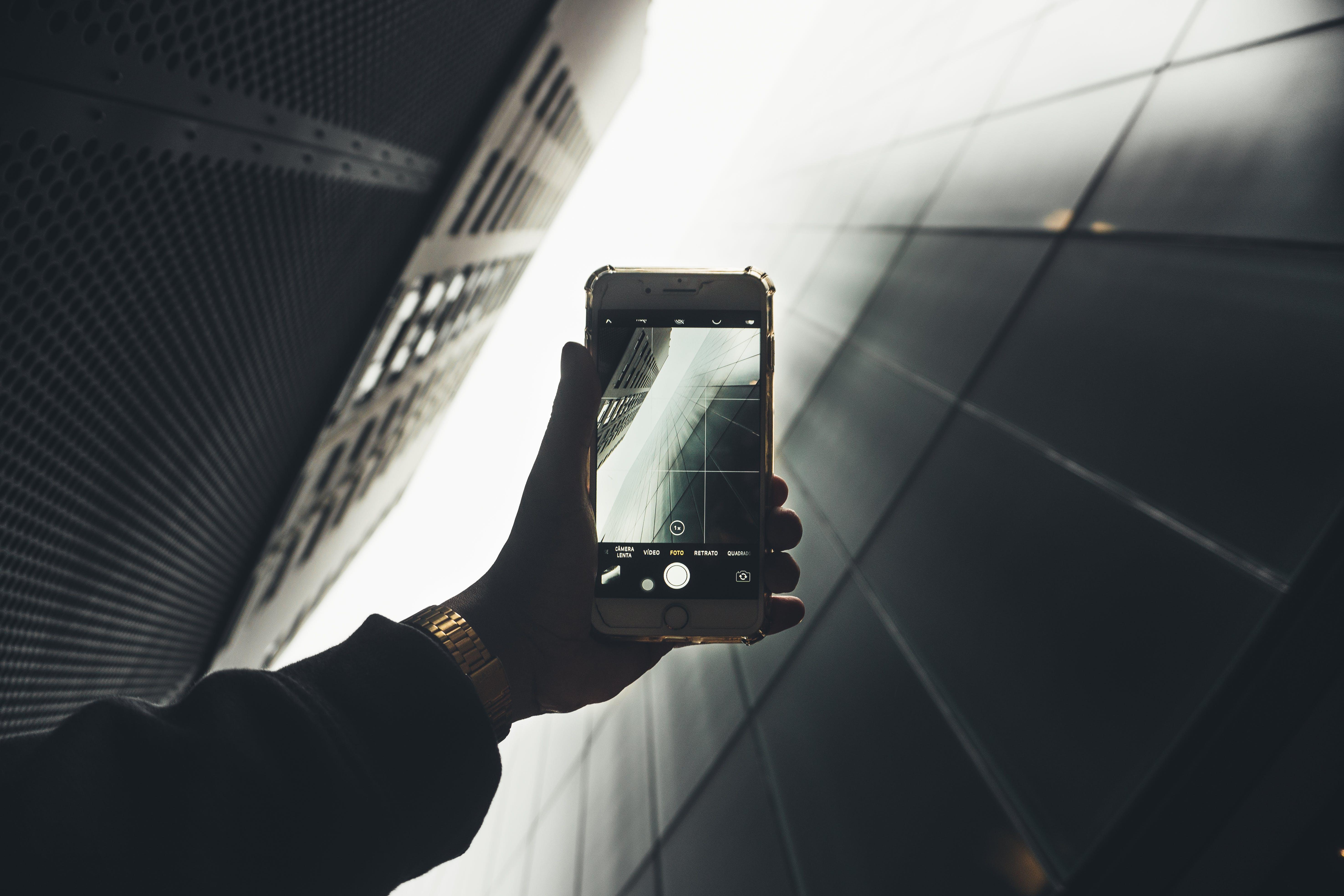 apple device, blur, camera