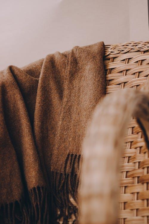 Free stock photo of 4k wallpaper, artistic background, beach chair, beige coat