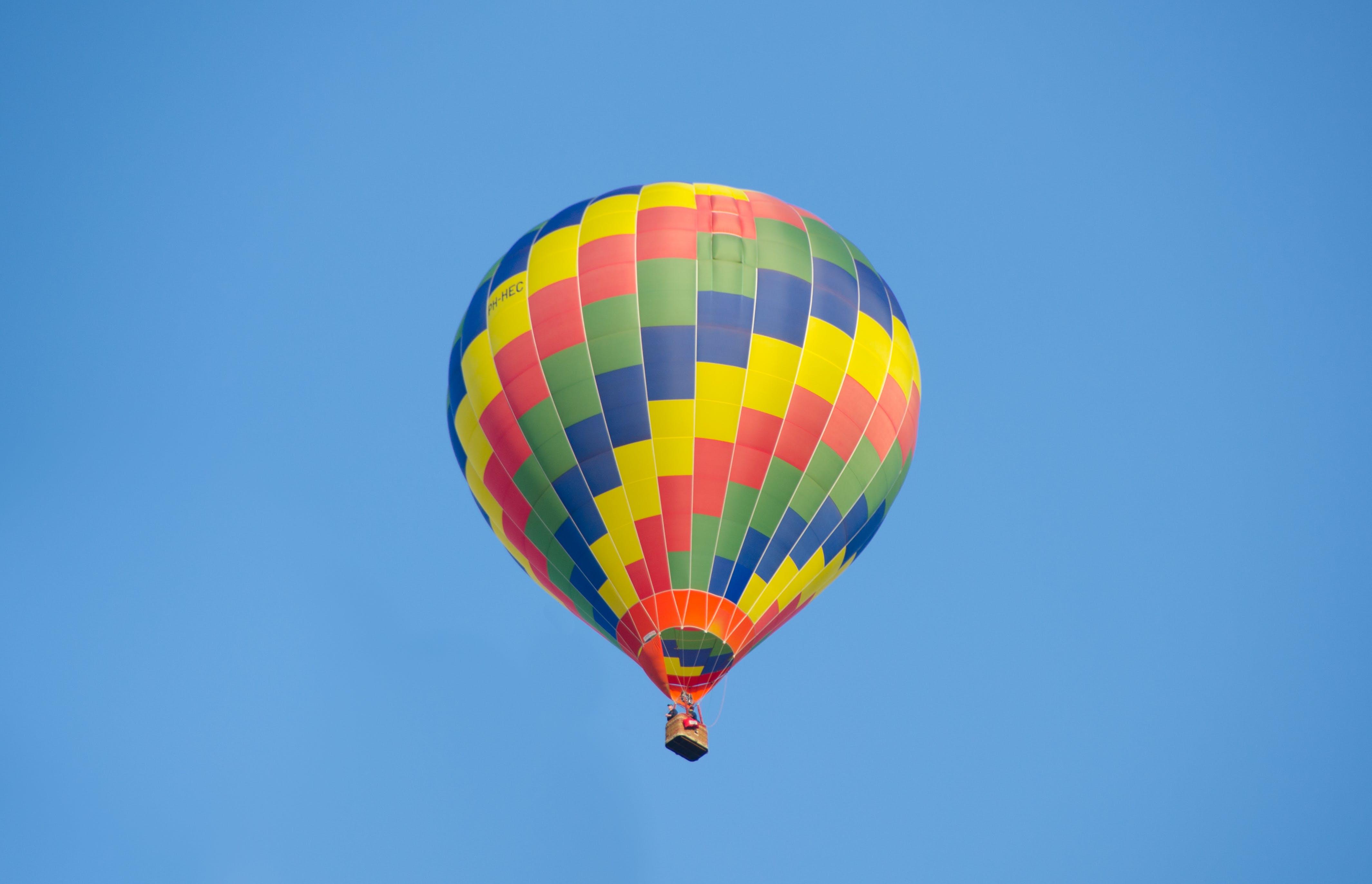 aktivitet, ballon, ballooning