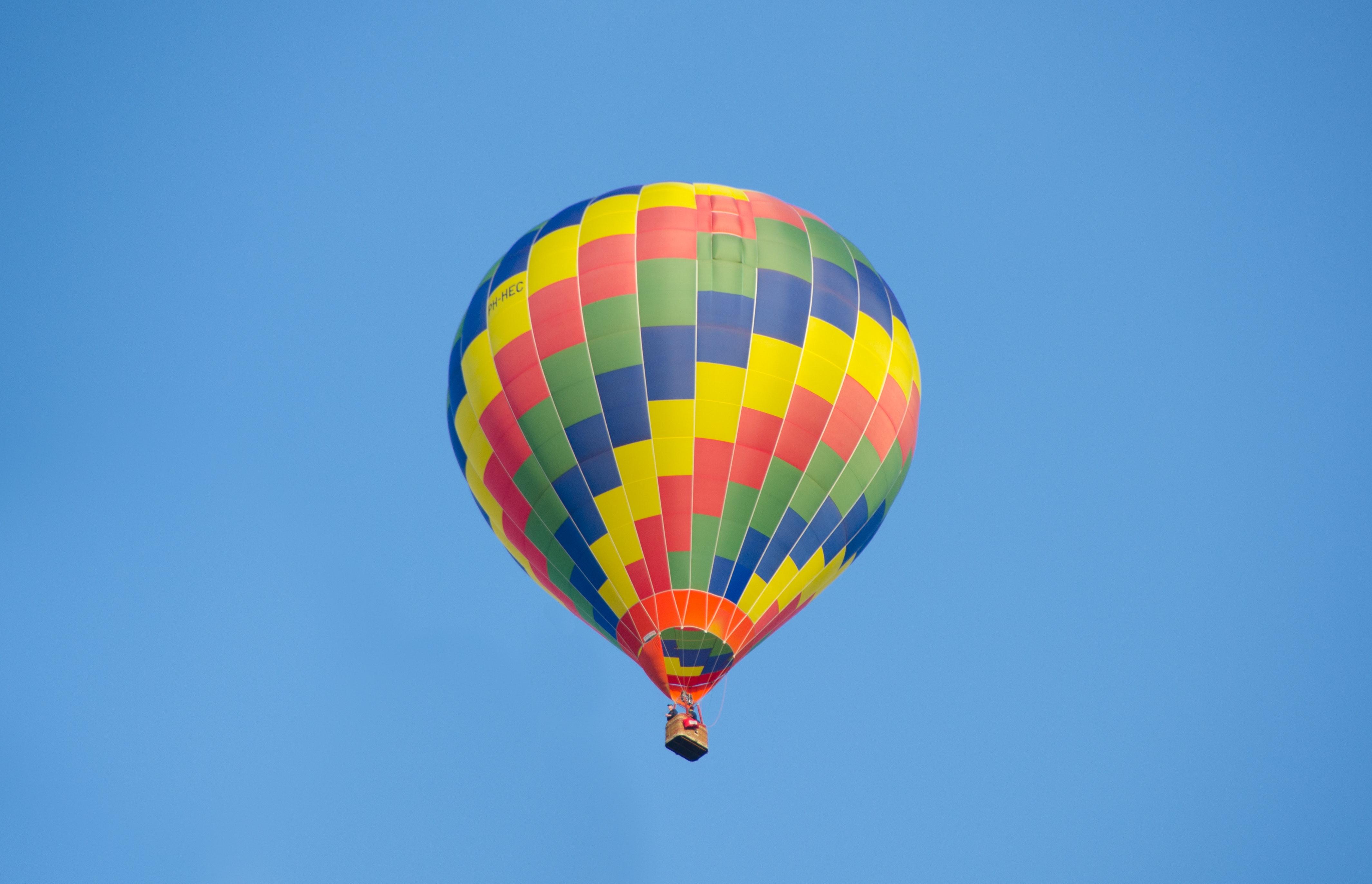 Hot Air Balloon Photo Free Stock Photo